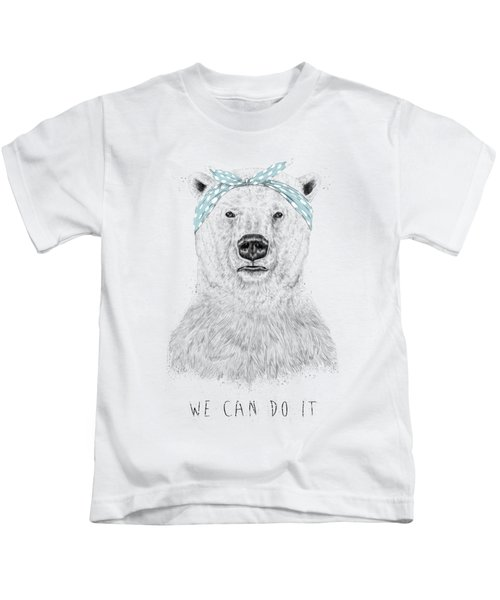 We Can Do It Kids T-Shirt