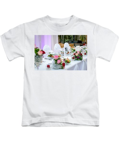 Wedding Table Kids T-Shirt