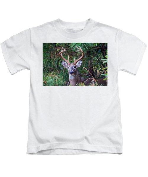 Whitetail Deer Kids T-Shirt