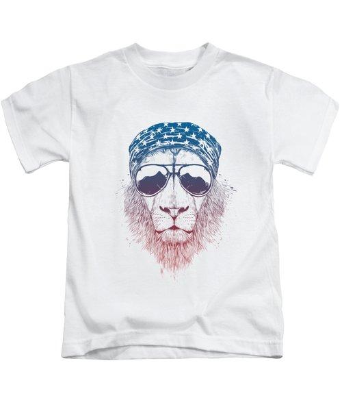 Wild Lion II Kids T-Shirt