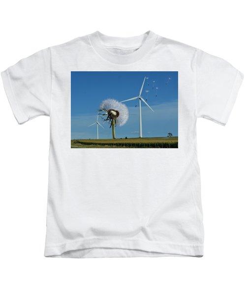 Wind Power Kids T-Shirt