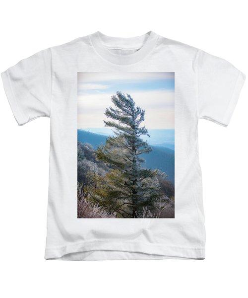 Wind Shaped Kids T-Shirt