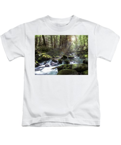 Woodland Falls Kids T-Shirt