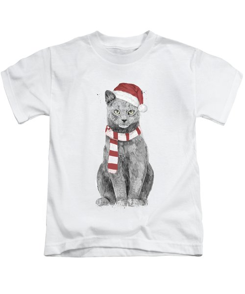 Xmas Cat Kids T-Shirt