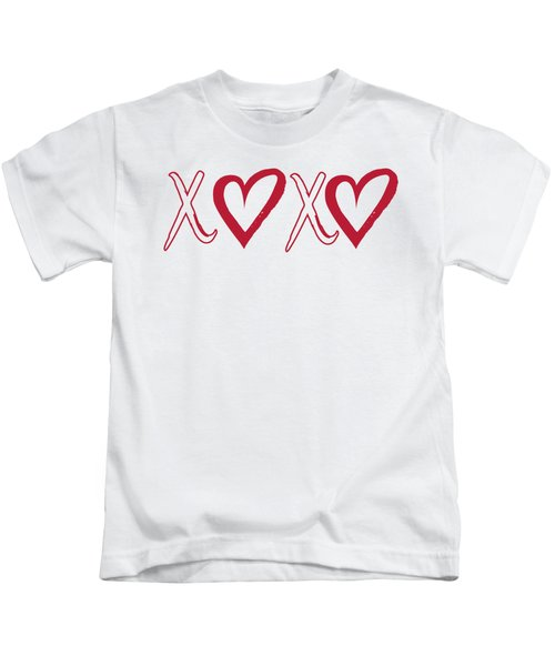 Xoxo, Hugs And Kisses, Kids T-Shirt