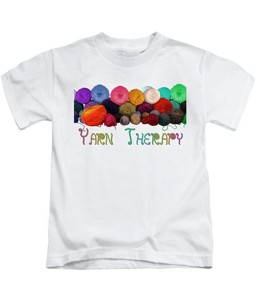 Yarn Therapy Kids T-Shirt