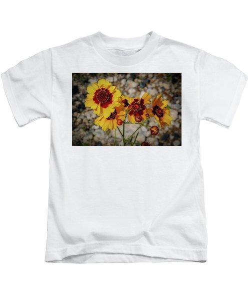 Yellow Wildflowers Kids T-Shirt