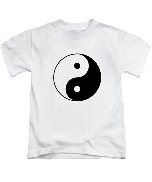 Yin And Yang Kids T-Shirt