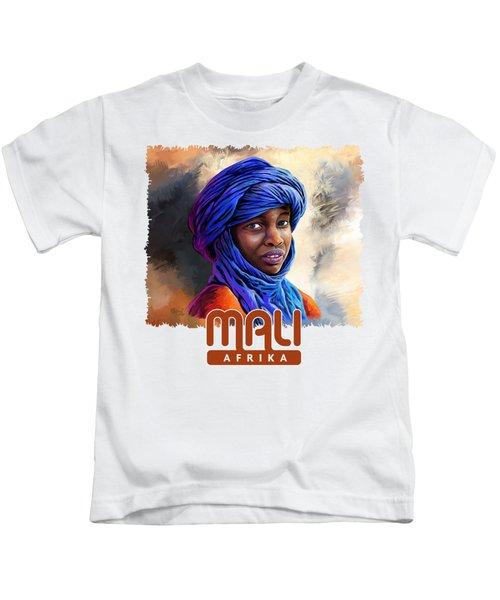 Young Boy From Mali Kids T-Shirt