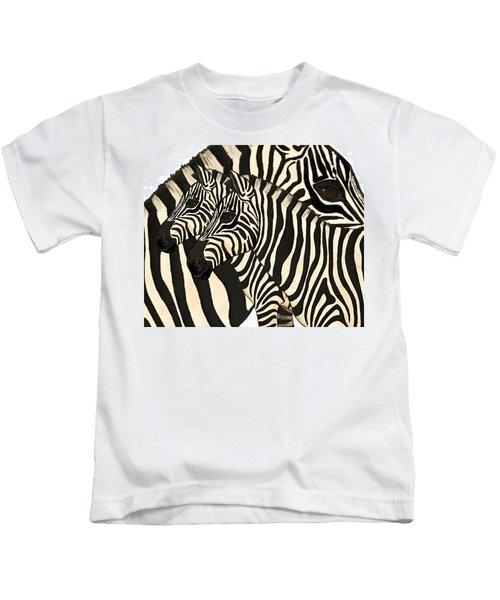 Z Is For Zebras Kids T-Shirt