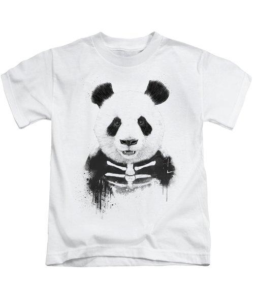 Zombie Panda Kids T-Shirt
