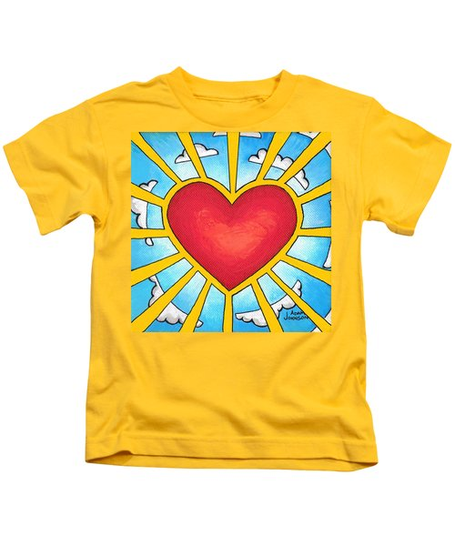 Heart Shine Kids T-Shirt