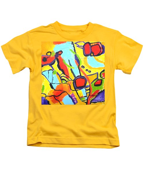 Birds On A Wire Kids T-Shirt