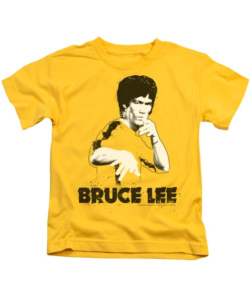 Bruce Lee - Suit Splatter Kids T-Shirt
