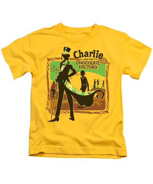 Chocolate Factory - Chocolate River Kids T-Shirt