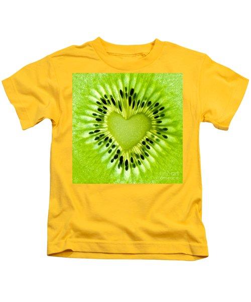 Kiwi Heart Kids T-Shirt