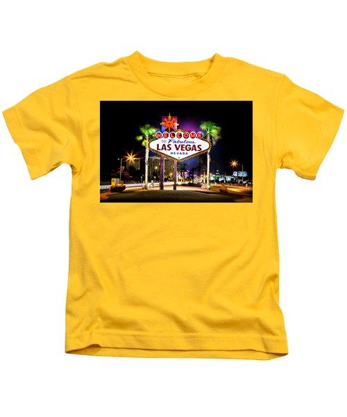 Las Vegas Sign Kids T-Shirt