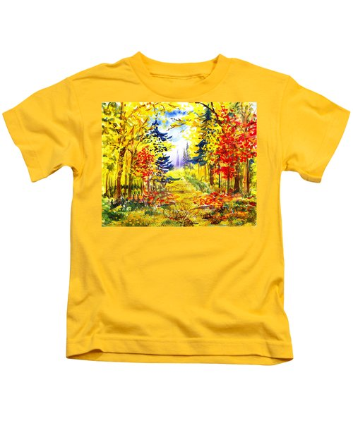 Path To The Fall Kids T-Shirt
