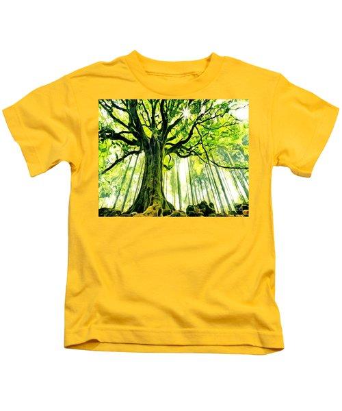 Raised By The Light Kids T-Shirt