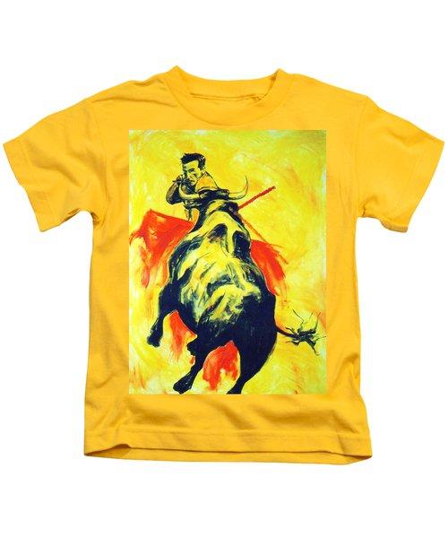 Spanish Bullfight Kids T-Shirt