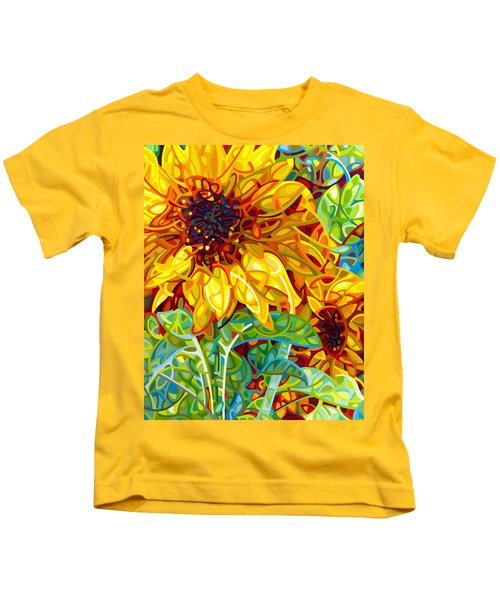 Summer In The Garden Kids T-Shirt