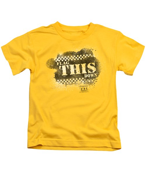 Taxi - Flag This Kids T-Shirt
