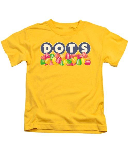 Tootsie Roll - Dots Logo Kids T-Shirt