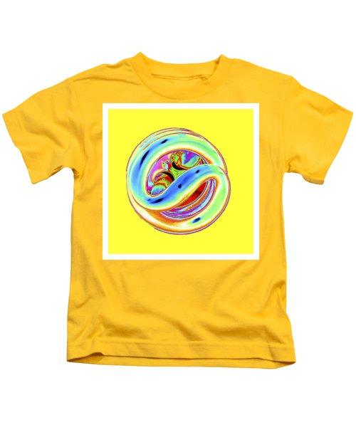 Yellow Fluorescent Kids T-Shirt