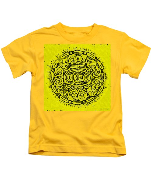 Yellow Oreo Kids T-Shirt
