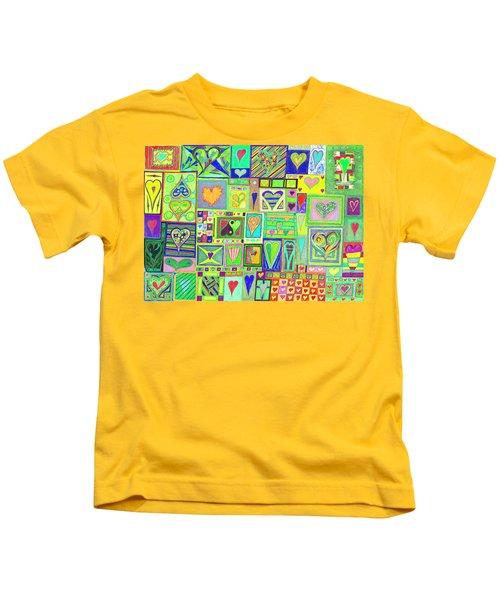 find U'r Love found    v18 Kids T-Shirt