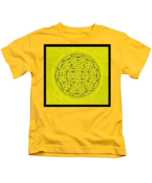 Oreo In Yellow Kids T-Shirt