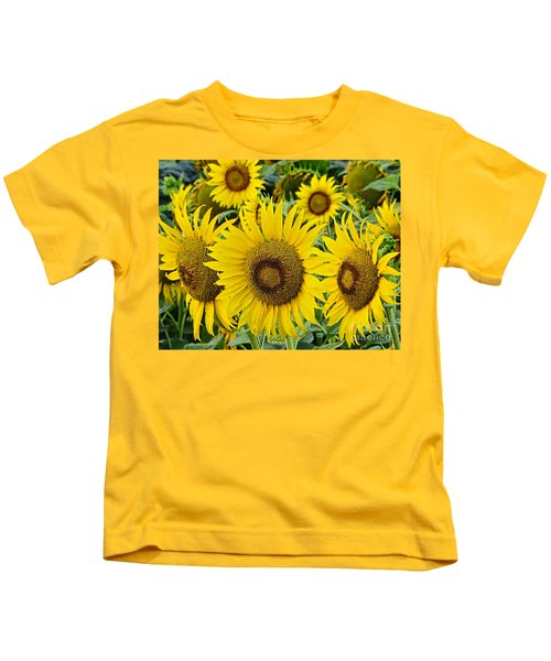 Sunflowers Kids T-Shirt