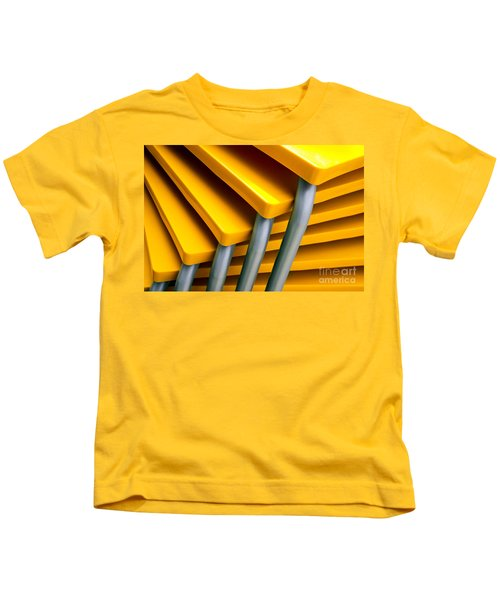 Yellow Tables Kids T-Shirt