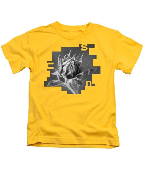 Sunflower Kids T-Shirt by Konstantin Sevostyanov
