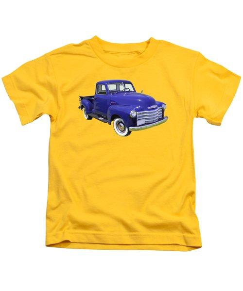 1947 Chevrolet Thriftmaster Antique Pickup Kids T-Shirt