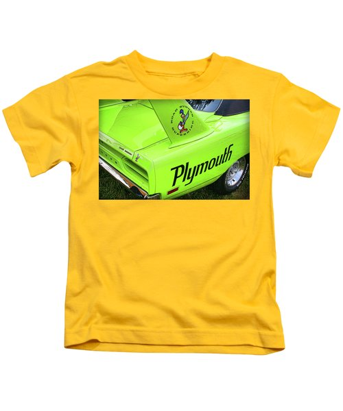 1970 Plymouth Superbird Kids T-Shirt