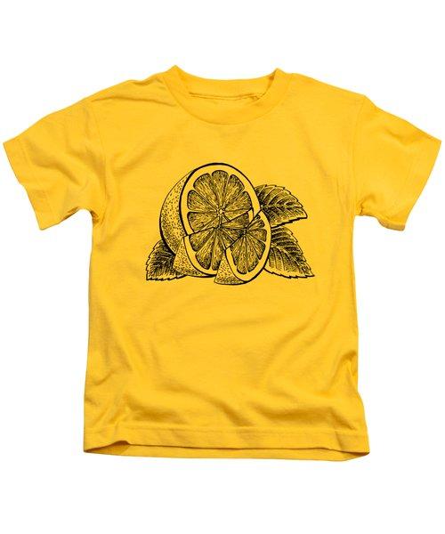 Lemon Kids T-Shirt by Irina Sztukowski