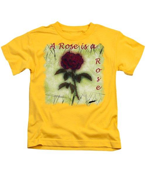 A Rose Kids T-Shirt