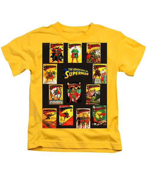 Adventures Of Superman Kids T-Shirt