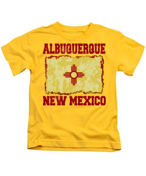 Albuquerque New Mexico Kids T-Shirt