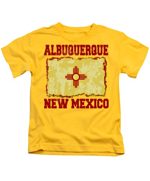 Albuquerque New Mexico Kids T-Shirt