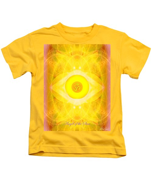 Angel Of The Sun Kids T-Shirt