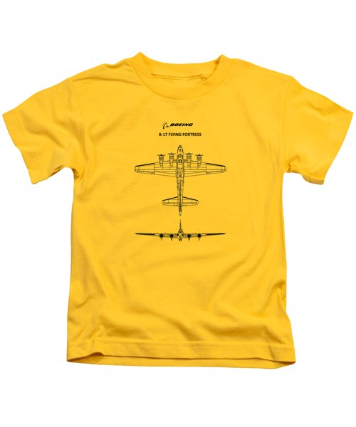B-17 Flying Fortress Kids T-Shirt