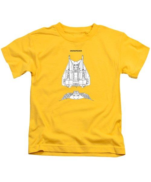 Star Wars - Snowspeeder Patent Kids T-Shirt