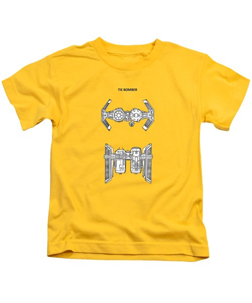 Star Wars - Spaceship Patent Kids T-Shirt