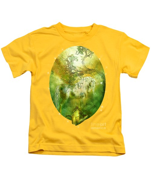 Unicorn Of The Forest  Kids T-Shirt