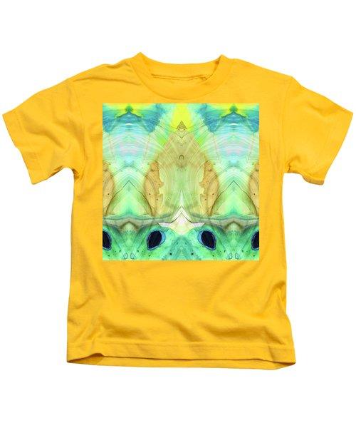 Abstract Art - Calm - Sharon Cummings Kids T-Shirt