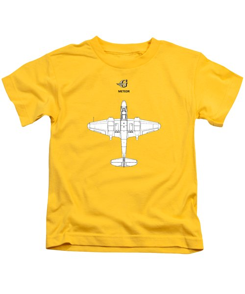 The Gloster Meteor Kids T-Shirt