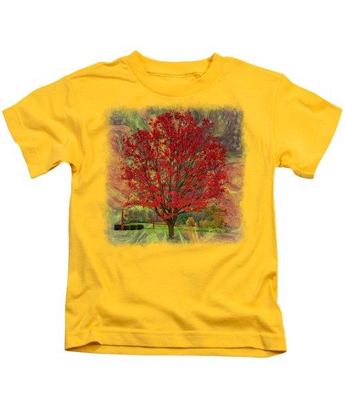 Autumn Scenic 2 Kids T-Shirt