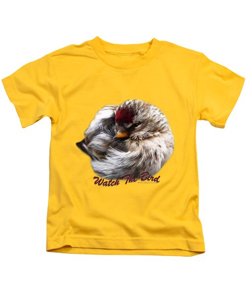 Ball Of Feathers Kids T-Shirt